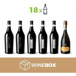 SELEZIONE ORO WINE BOX 18 BOTTIGLIE